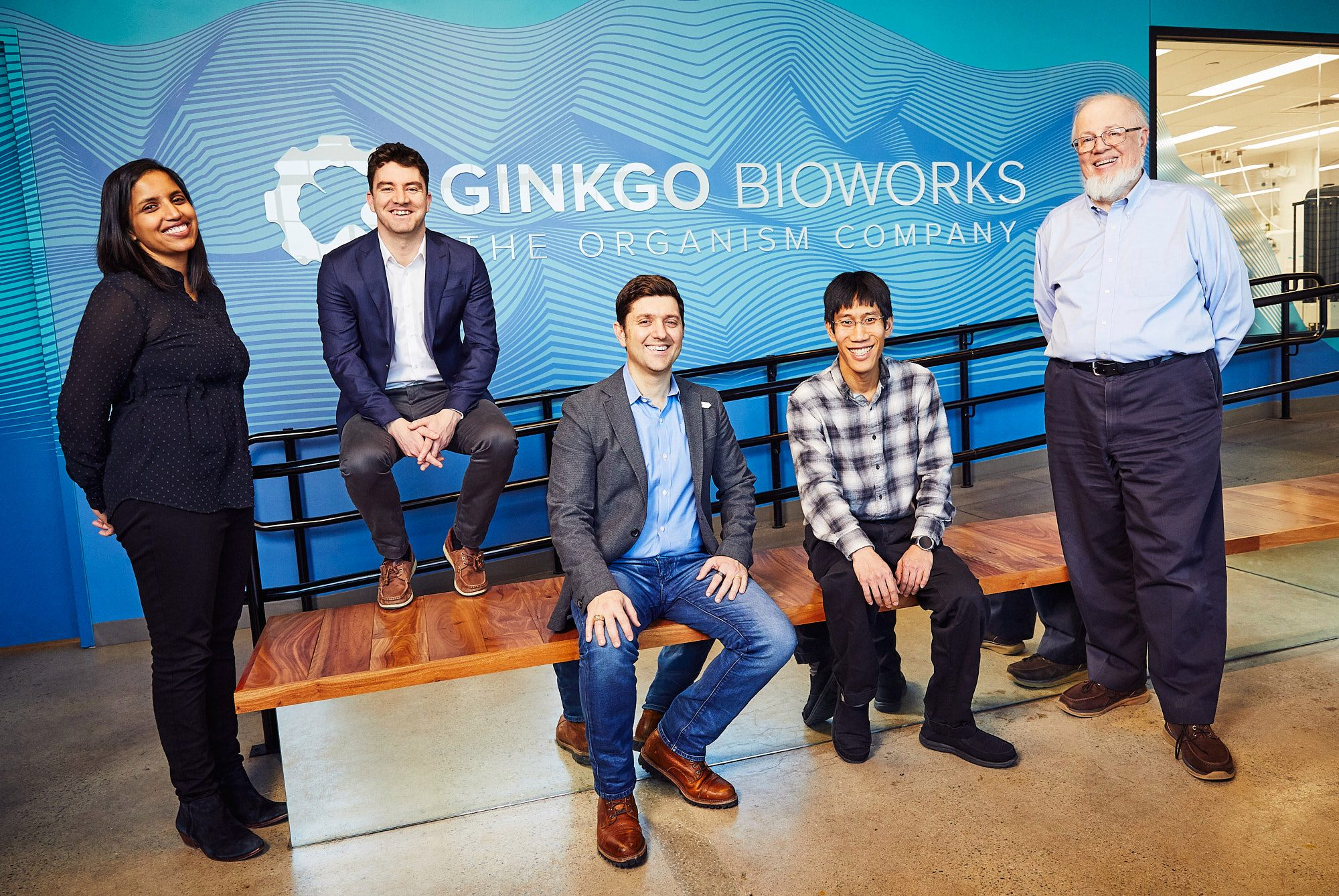 photograph of the founders of Ginkgo Bioworks